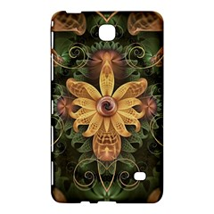 Beautiful Filigree Oxidized Copper Fractal Orchid Samsung Galaxy Tab 4 (7 ) Hardshell Case  by beautifulfractals