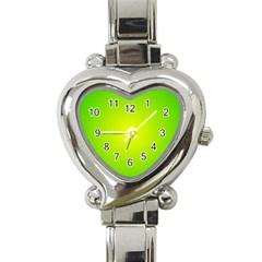 Pattern Heart Italian Charm Watch by gasi