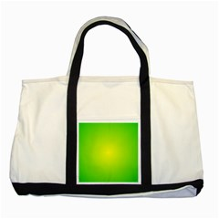 Pattern Two Tone Tote Bag by gasi