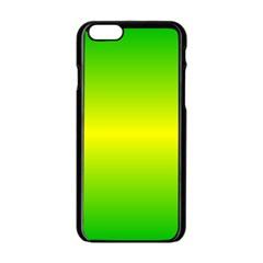 Pattern Apple Iphone 6/6s Black Enamel Case by gasi