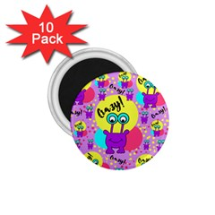 Crazy 1 75  Magnets (10 Pack)  by gasi