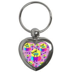 Crazy Key Chains (heart)  by gasi