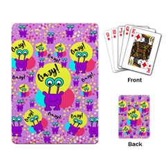 Crazy Playing Card by gasi