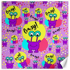 Crazy Canvas 16  X 16   by gasi