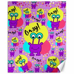 Crazy Canvas 16  X 20   by gasi