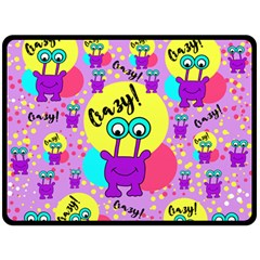 Crazy Fleece Blanket (large)  by gasi