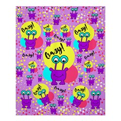 Crazy Shower Curtain 60  X 72  (medium)  by gasi