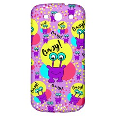 Crazy Samsung Galaxy S3 S Iii Classic Hardshell Back Case by gasi