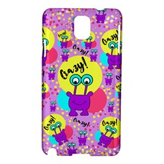 Crazy Samsung Galaxy Note 3 N9005 Hardshell Case by gasi
