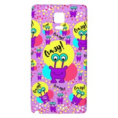 Crazy Galaxy Note 4 Back Case by gasi