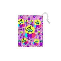 Crazy Drawstring Pouches (xs)  by gasi
