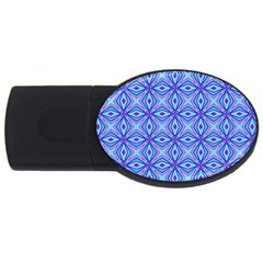 Pattern Usb Flash Drive Oval (4 Gb) by gasi