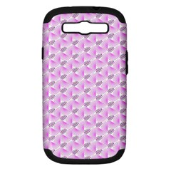 Pattern Samsung Galaxy S Iii Hardshell Case (pc+silicone) by gasi