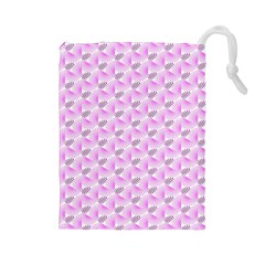 Pattern Drawstring Pouches (large)  by gasi