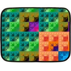 Pattern Double Sided Fleece Blanket (mini)  by gasi