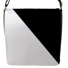 Pattern Flap Messenger Bag (S)