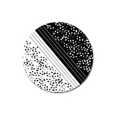 Pattern Magnet 3  (round) by gasi