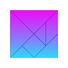 Pattern Acrylic Tangram Puzzle (4  X 4 ) by gasi