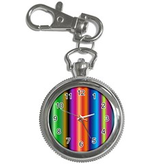 Pattern Key Chain Watches by gasi