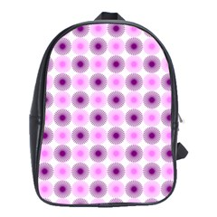 Pattern School Bag (large) by gasi