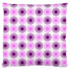 Pattern Large Flano Cushion Case (one Side) by gasi