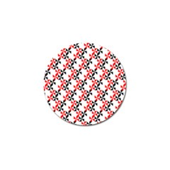 Pattern Golf Ball Marker (10 Pack) by gasi