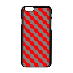 Pattern Apple Iphone 6/6s Black Enamel Case by gasi