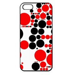 Pattern Apple Iphone 5 Seamless Case (black) by gasi