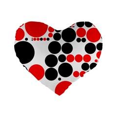Pattern Standard 16  Premium Heart Shape Cushions by gasi