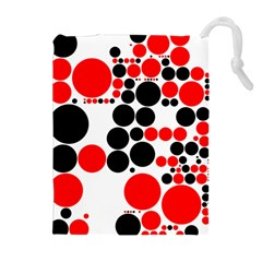 Pattern Drawstring Pouches (extra Large) by gasi
