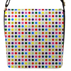 Pattern Flap Messenger Bag (s) by gasi