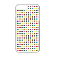 Pattern Apple Iphone 7 Plus Seamless Case (white) by gasi