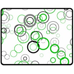 Pattern Double Sided Fleece Blanket (medium)  by gasi