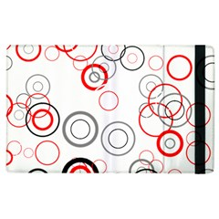 Pattern Apple Ipad 3/4 Flip Case by gasi