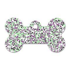 Pattern Dog Tag Bone (one Side) by gasi