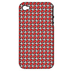 Pattern Apple Iphone 4/4s Hardshell Case (pc+silicone) by gasi