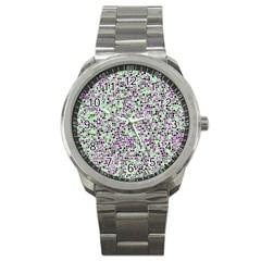 Pattern Sport Metal Watch by gasi