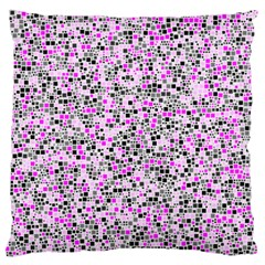 Pattern Large Flano Cushion Case (two Sides) by gasi
