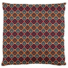 Native American Pattern 4 Large Cushion Case (one Side) by Cveti