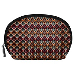 Native American Pattern 4 Accessory Pouches (large)  by Cveti