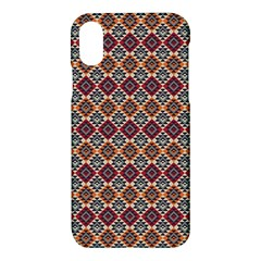 Native American Pattern 4 Apple Iphone X Hardshell Case