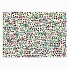 Pattern Large Glasses Cloth (2 Side) by gasi