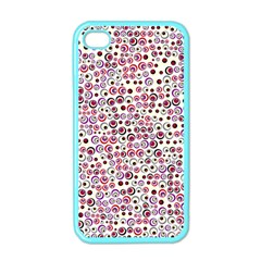 Pattern Apple Iphone 4 Case (color) by gasi