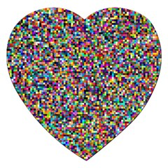 Pattern Jigsaw Puzzle (heart) by gasi