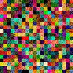 Pattern Magic Photo Cubes by gasi