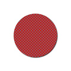 Pattern Rubber Coaster (round)  by gasi