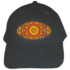 Sunshine Mandala And Other Golden Planets Black Cap