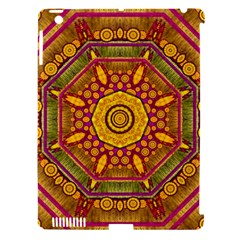 Sunshine Mandala And Other Golden Planets Apple Ipad 3/4 Hardshell Case (compatible With Smart Cover) by pepitasart