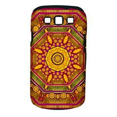 Sunshine Mandala And Other Golden Planets Samsung Galaxy S Iii Classic Hardshell Case (pc+silicone) by pepitasart