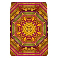 Sunshine Mandala And Other Golden Planets Flap Covers (l)  by pepitasart